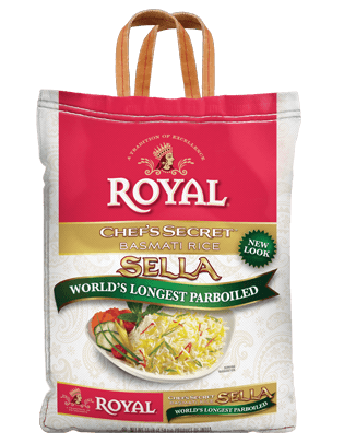 Royal Chef's Secret Sella Basmati Rice