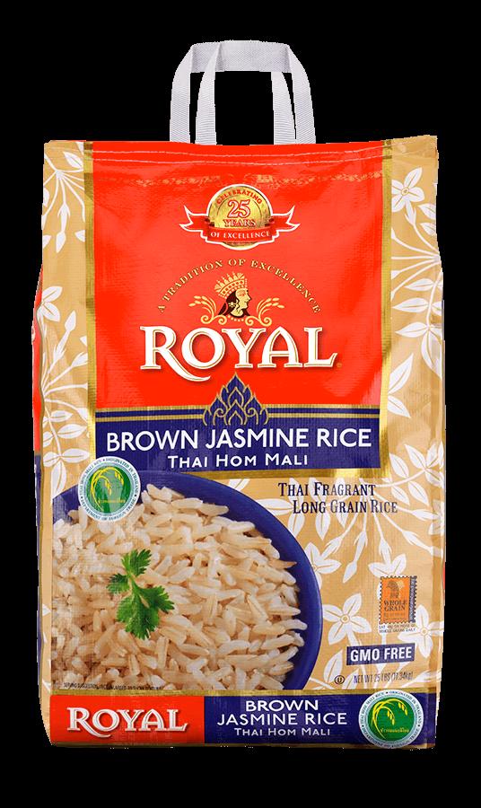Brown Jasmine Thai Hom Mali Rice