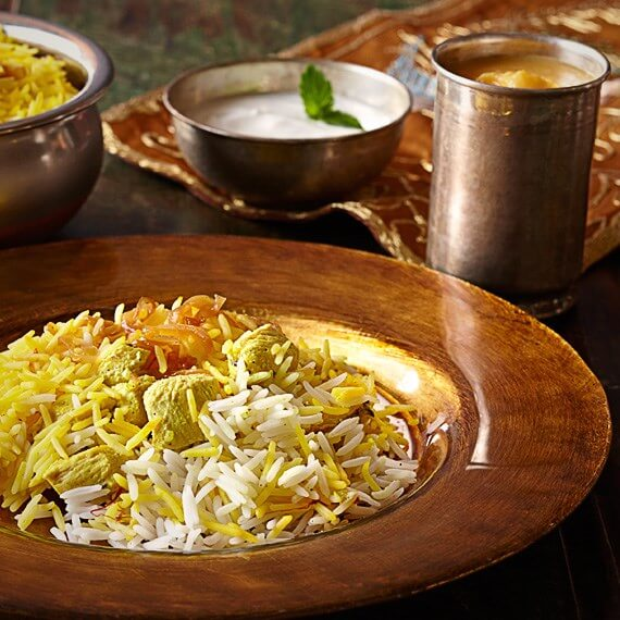 One-Hour Chicken Biryani