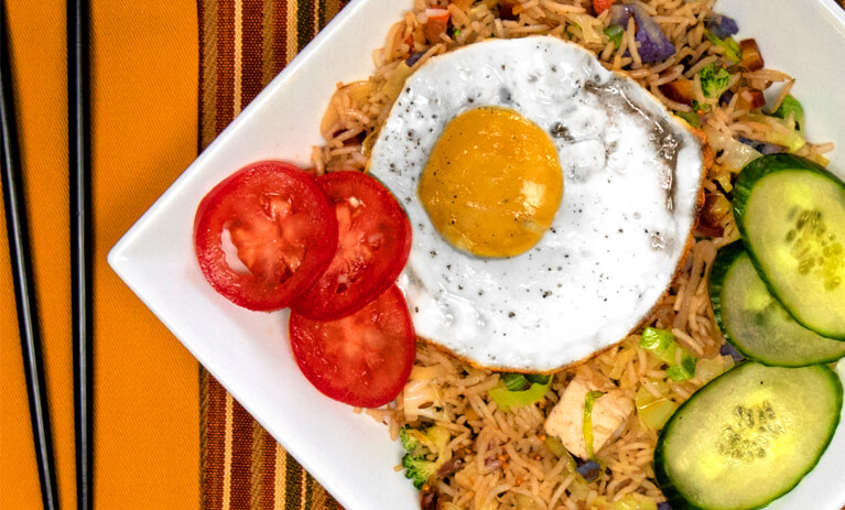 Cook with Maneet Chauhan: Panch Puran Royal Basmati Nasi Goreng