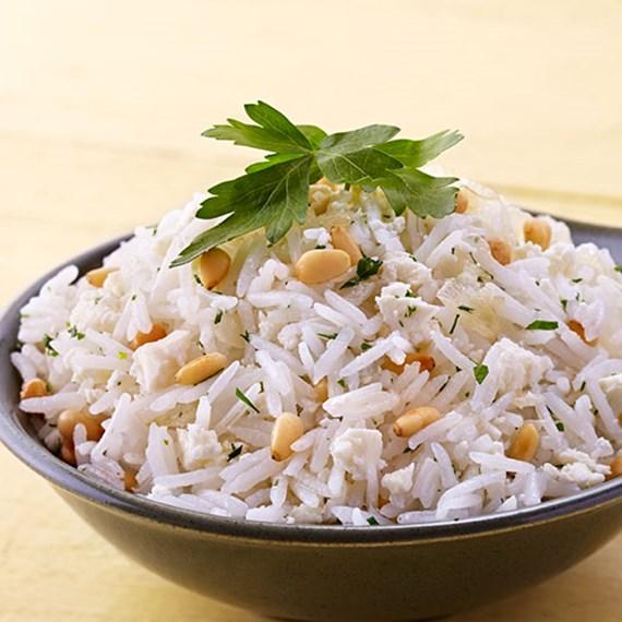 Pine Nut Feta Rice
