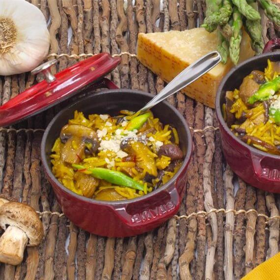 Royal Basmati Rice Morel Risotto