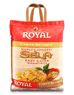 Royal Chef's Secret Sela Basmati Rice
