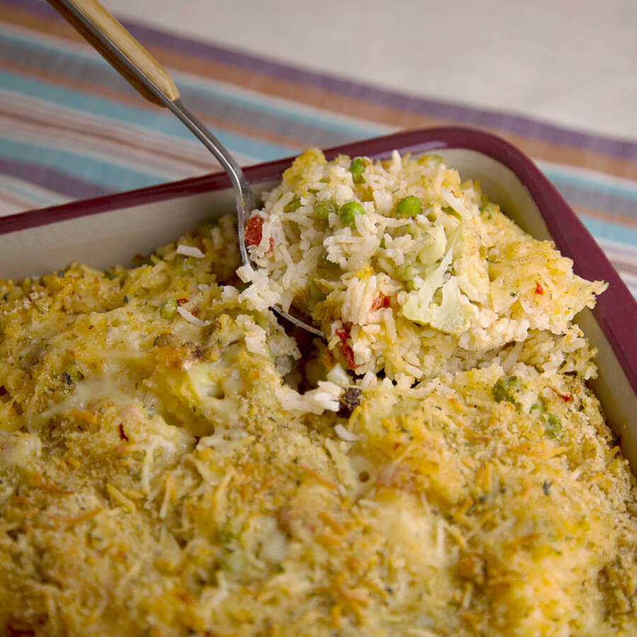 Royal Basmati Rice and Chicken Casserole