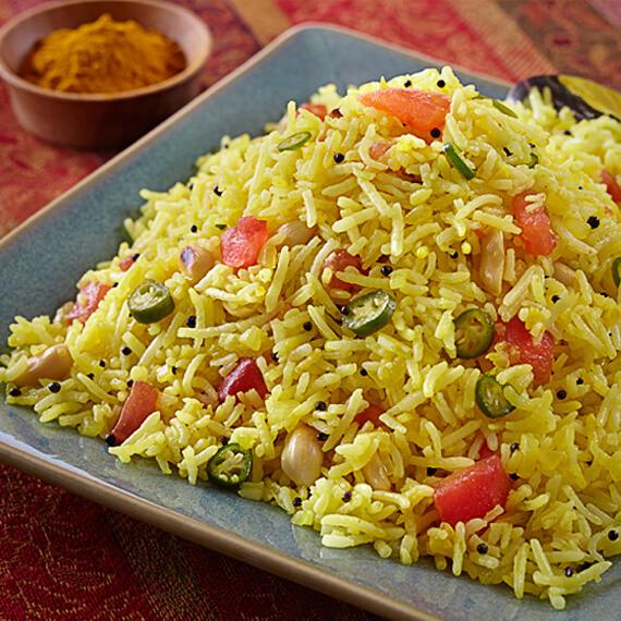 Seasoned Rice [Phodnica Bhat]