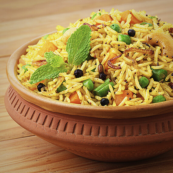 One-Hour Vegetable Biryani