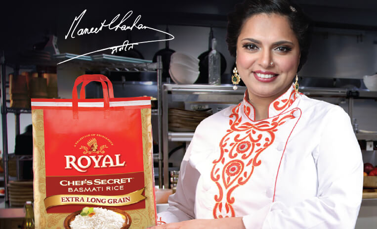 Dining with Royalty: Maneet Chauhan at Expo West