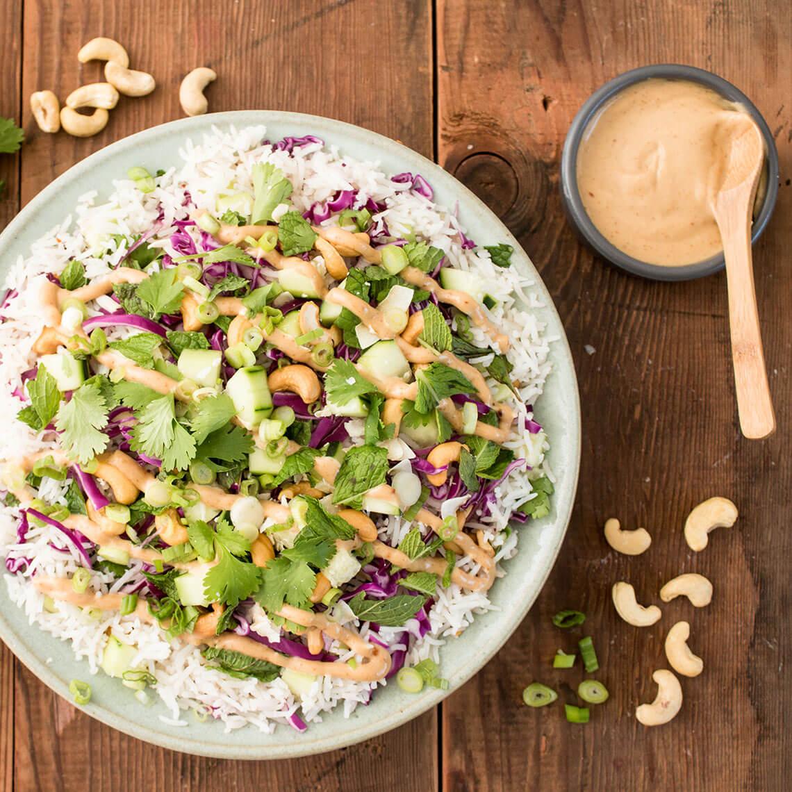Thai Coconut Rice Salad