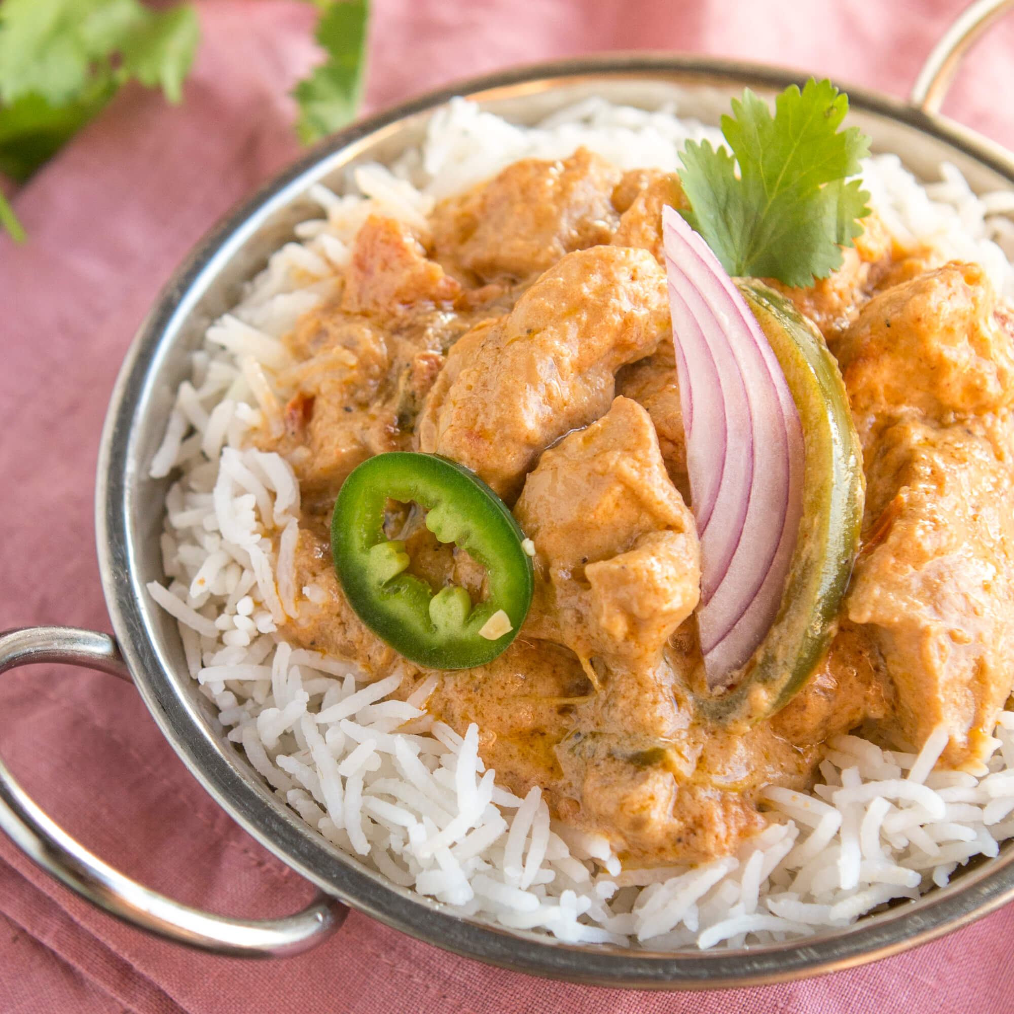 Chicken Kadhai with Royal Basmati Rice