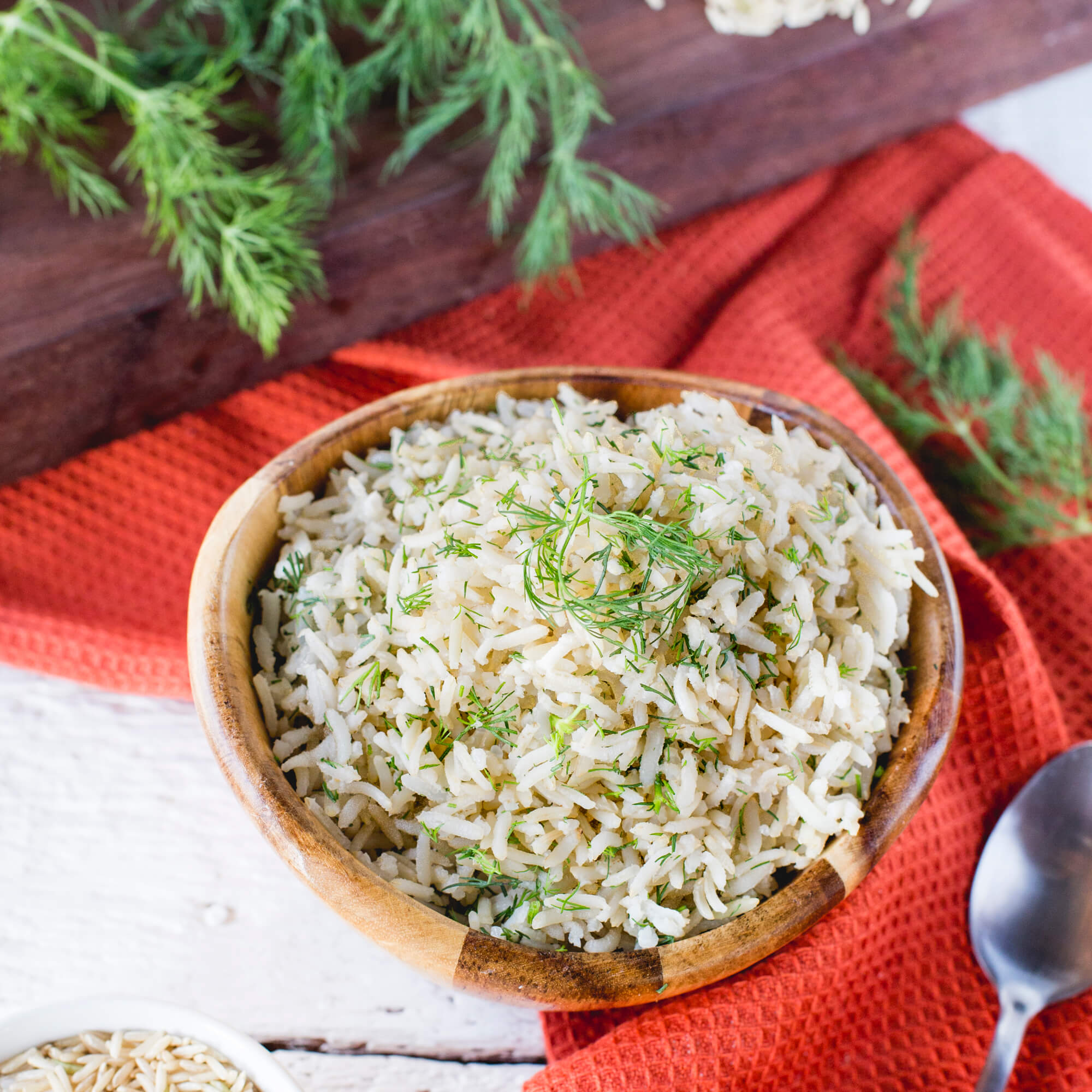 Royal Brown Basmati Rice with Dill