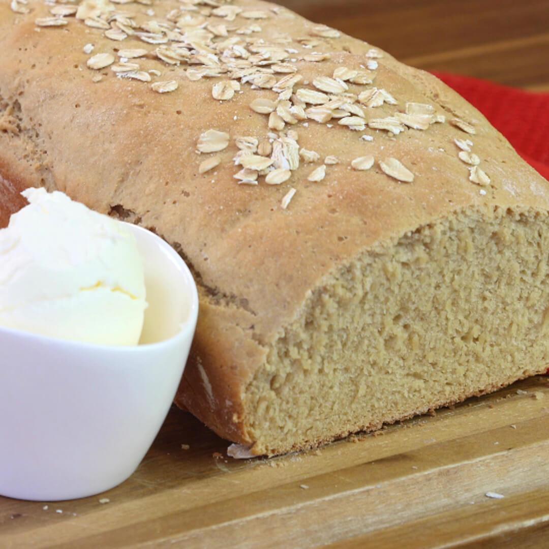 Whole Grain Wheat Bread – Made with Royal® Sharbati Atta