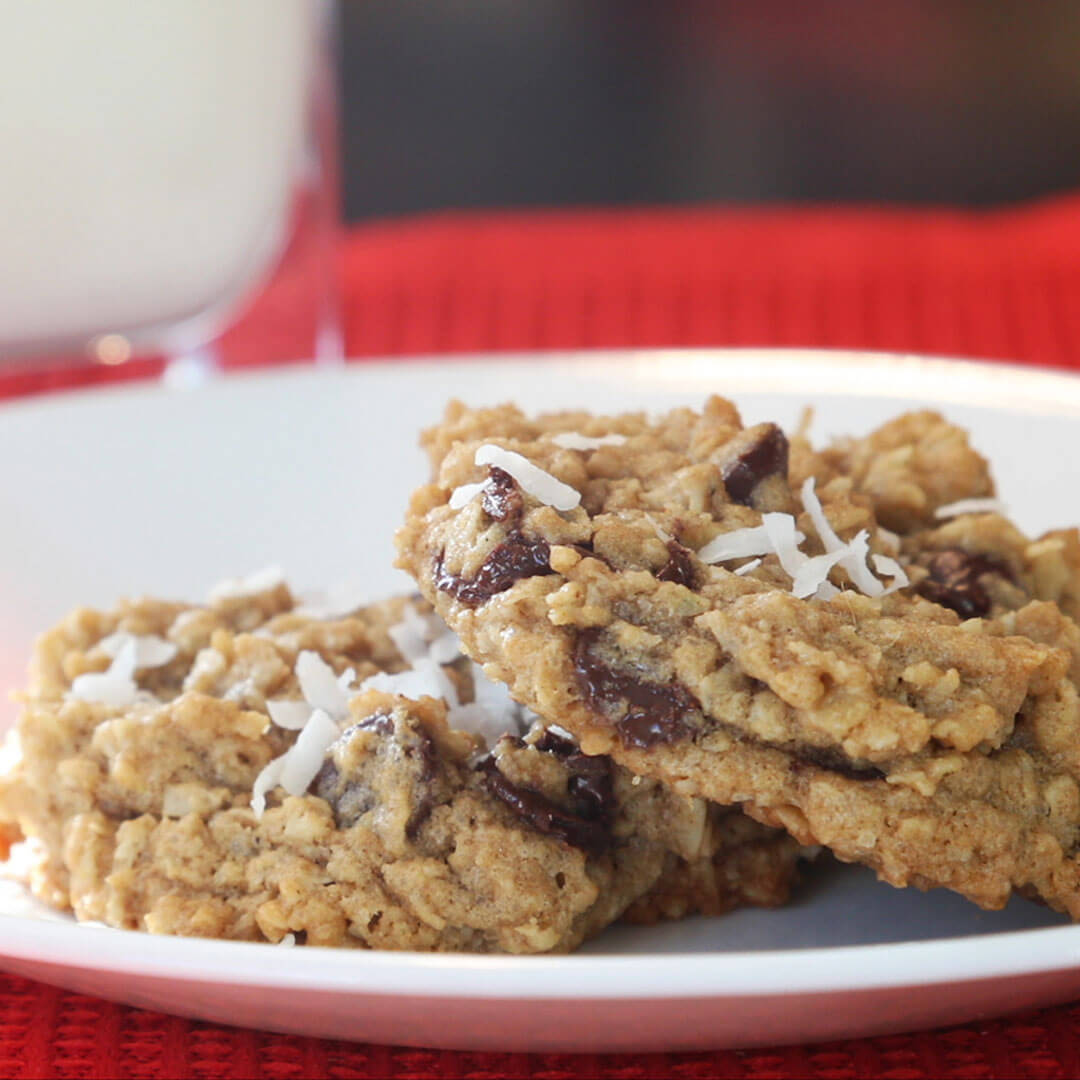 Chocolate Chip Oatmeal Cookies – Made with Royal® Sharbati Atta