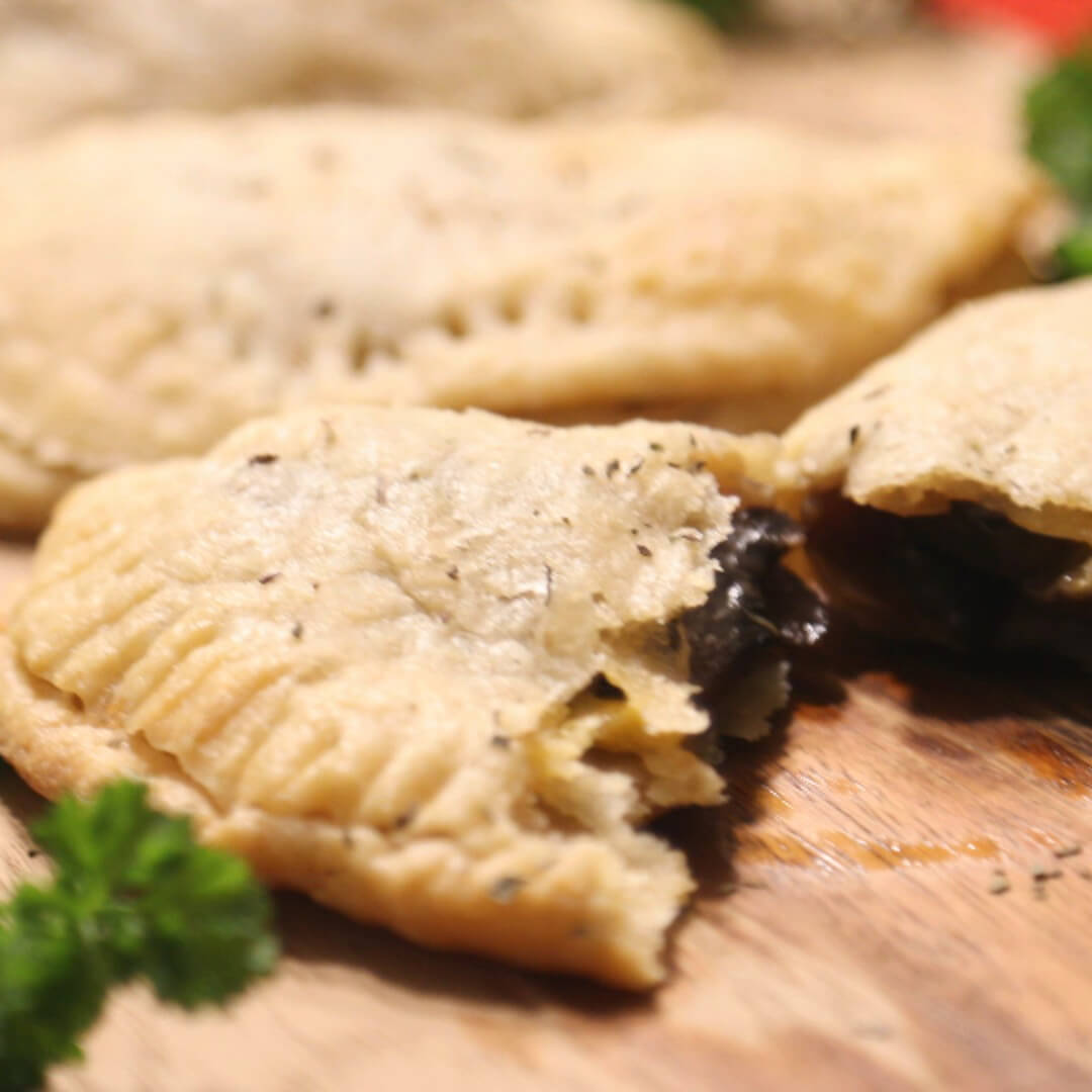 Mushroom Empanadas – Made with Royal® Sharbati Atta