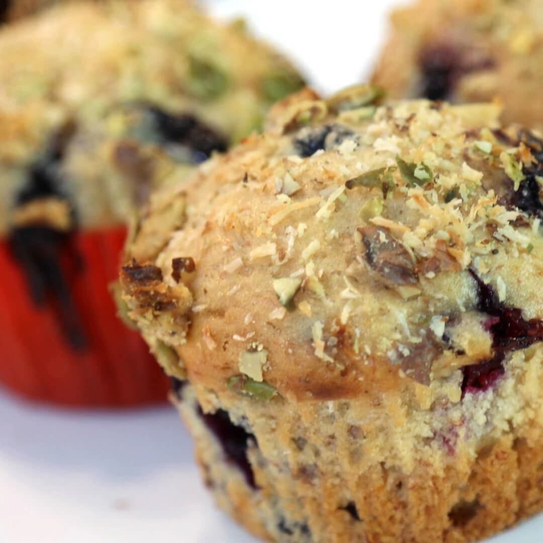 Blueberry Muffins – Made with Royal® Sharbati Atta