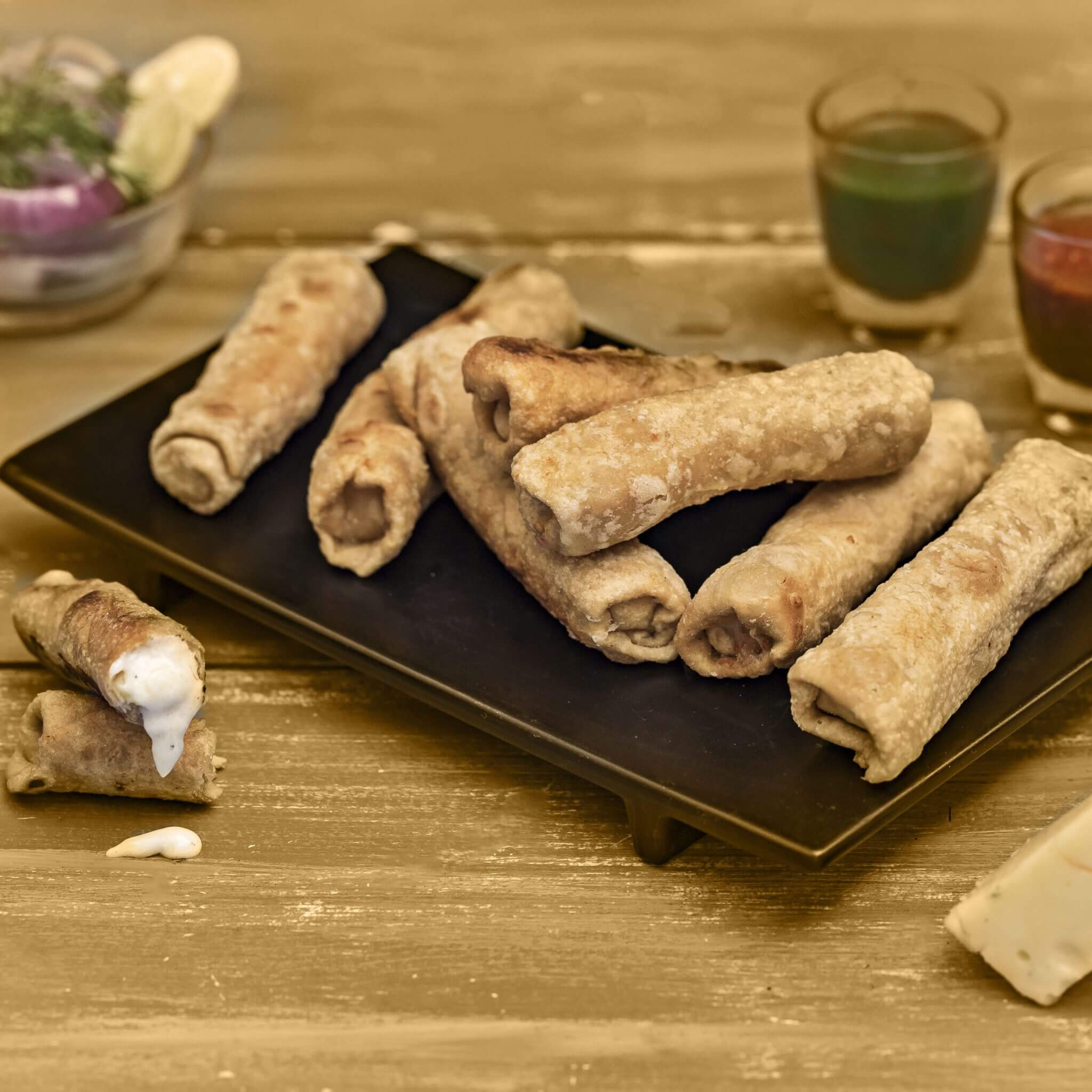 Cheese Roti Rolls – Made with Royal® Sharbati Atta