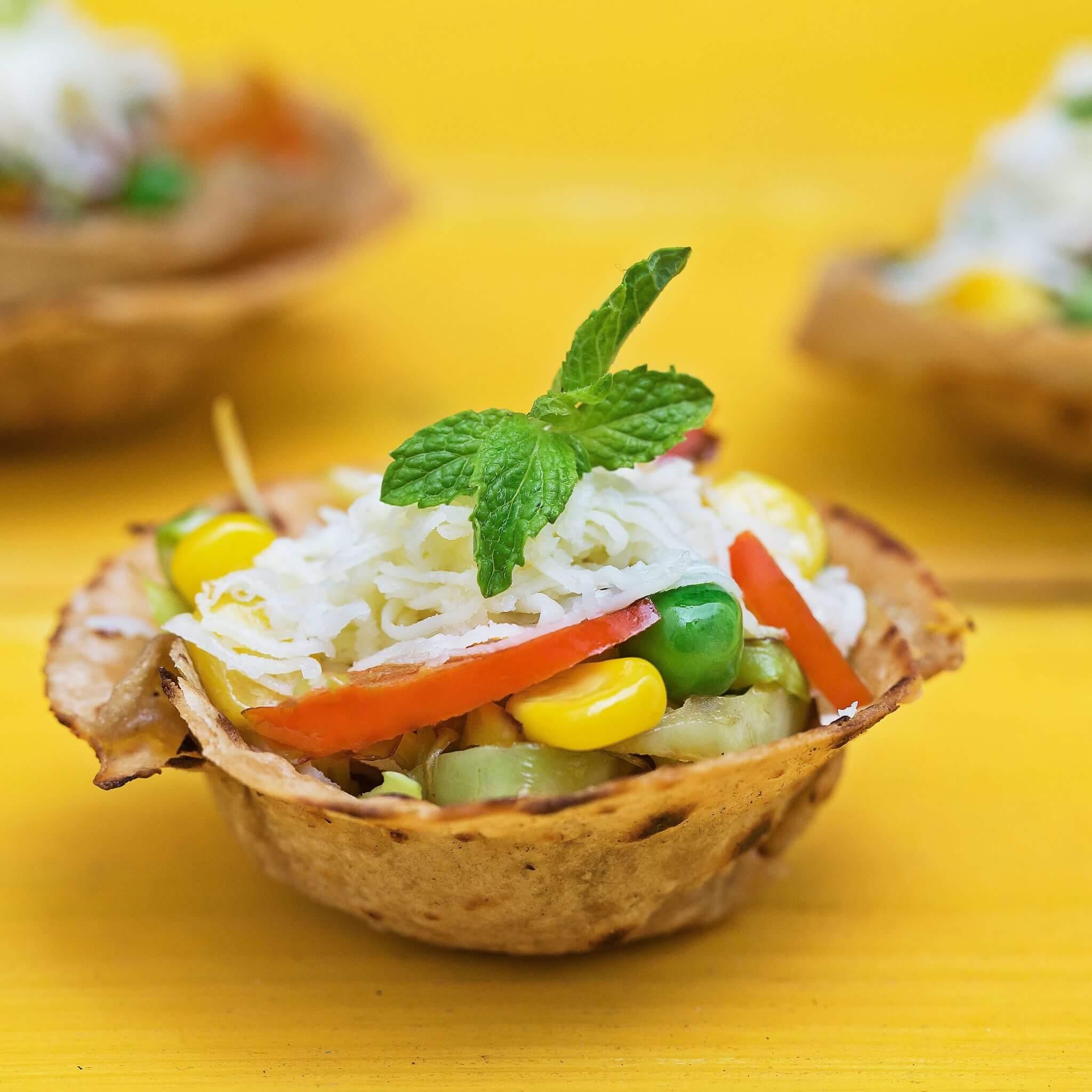 Spicy Roti Taco Bowl – Made with Royal® Sharbati Atta