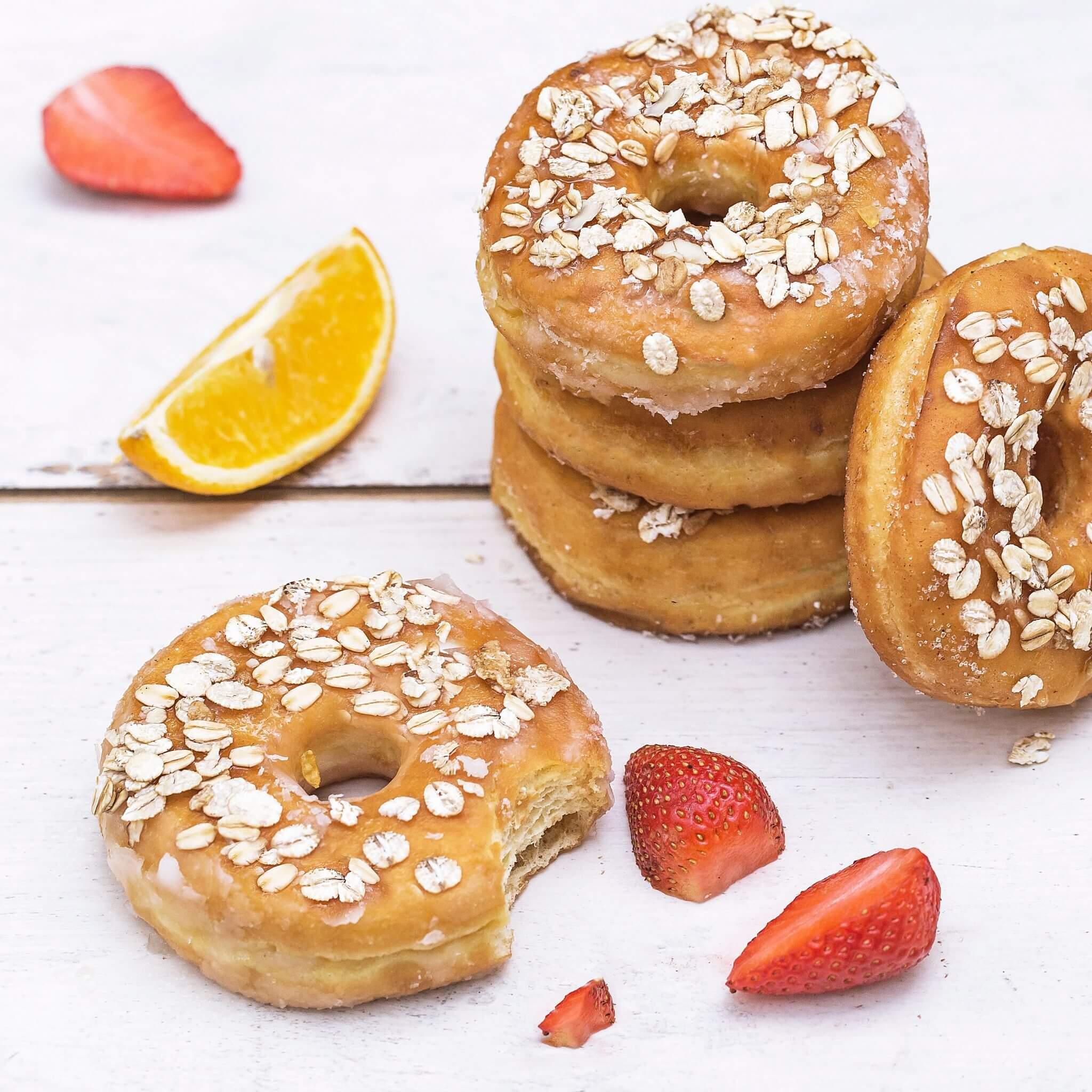 Whole Wheat Donut – Made with Royal® Sharbati Atta