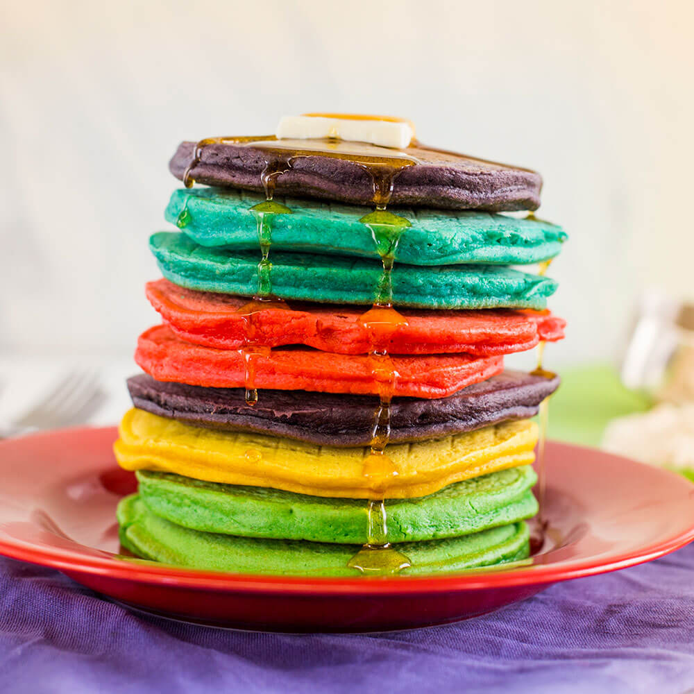Royal® Sharbati Atta Rainbow Pancakes