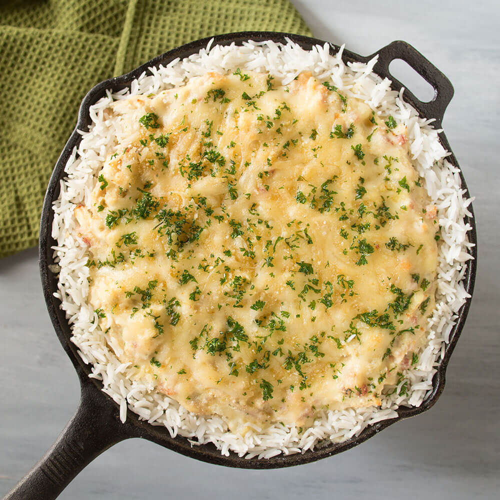 Chicken and Royal® Basmati Rice Cordon Bleu Casserole