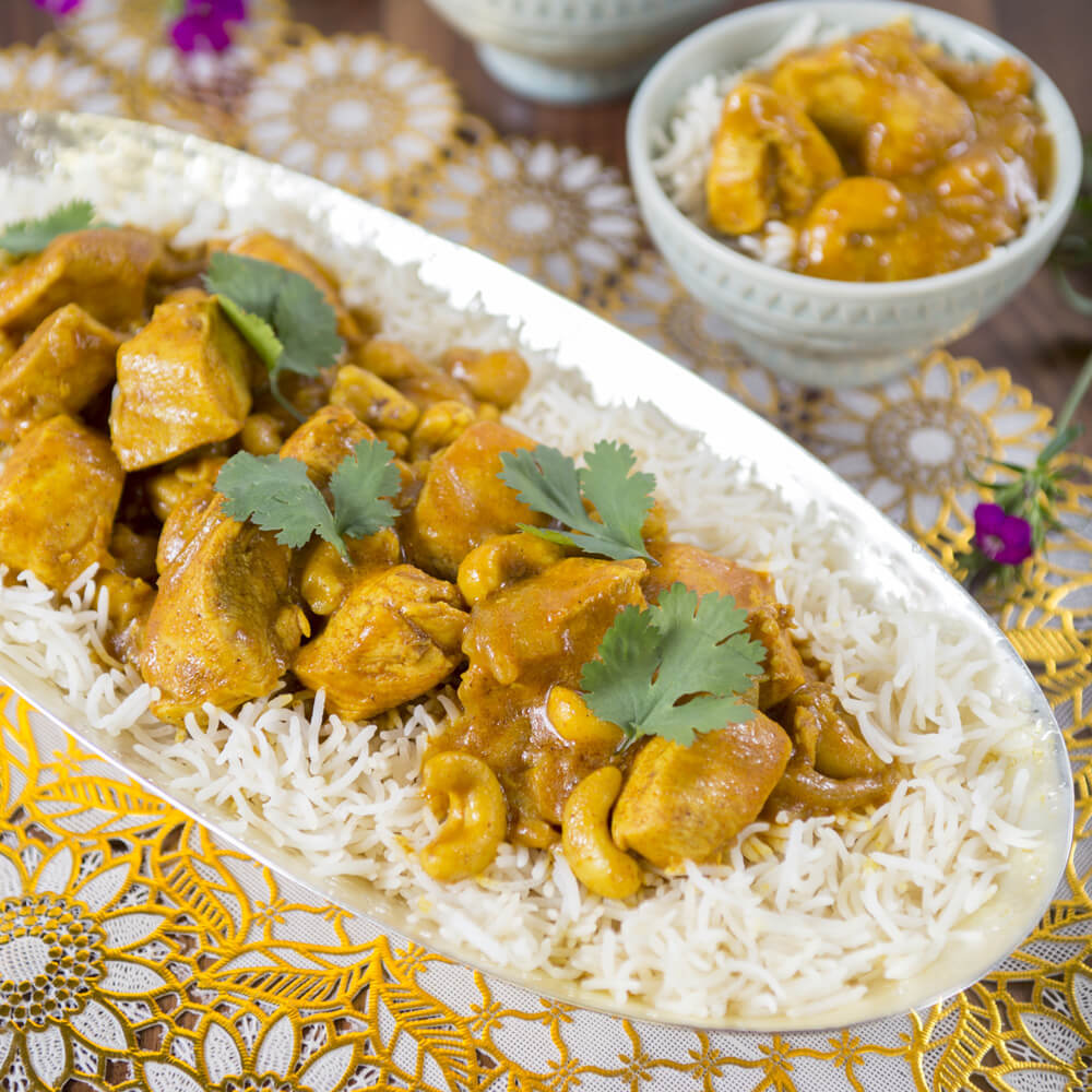 Chicken Korma with Royal® Chef's Secret Long Grain Basmati Rice