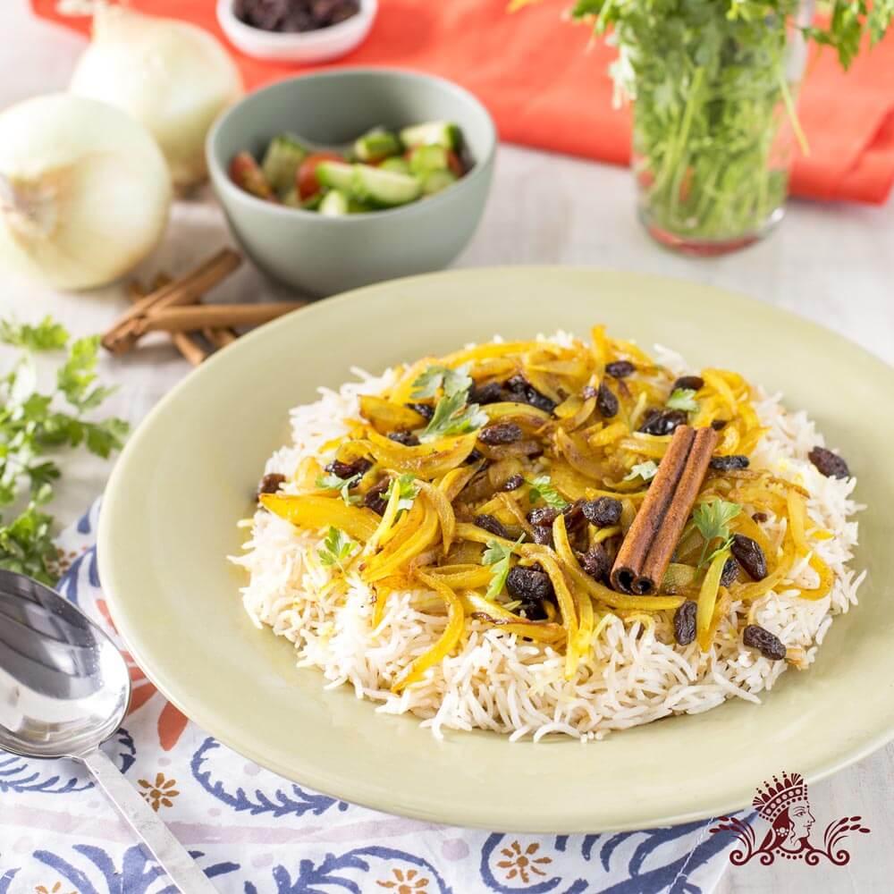 Somali Rice Pilaf (Bariis Fahfah) with Royal® Chef's Secret Extra Long Grain Basmati Rice
