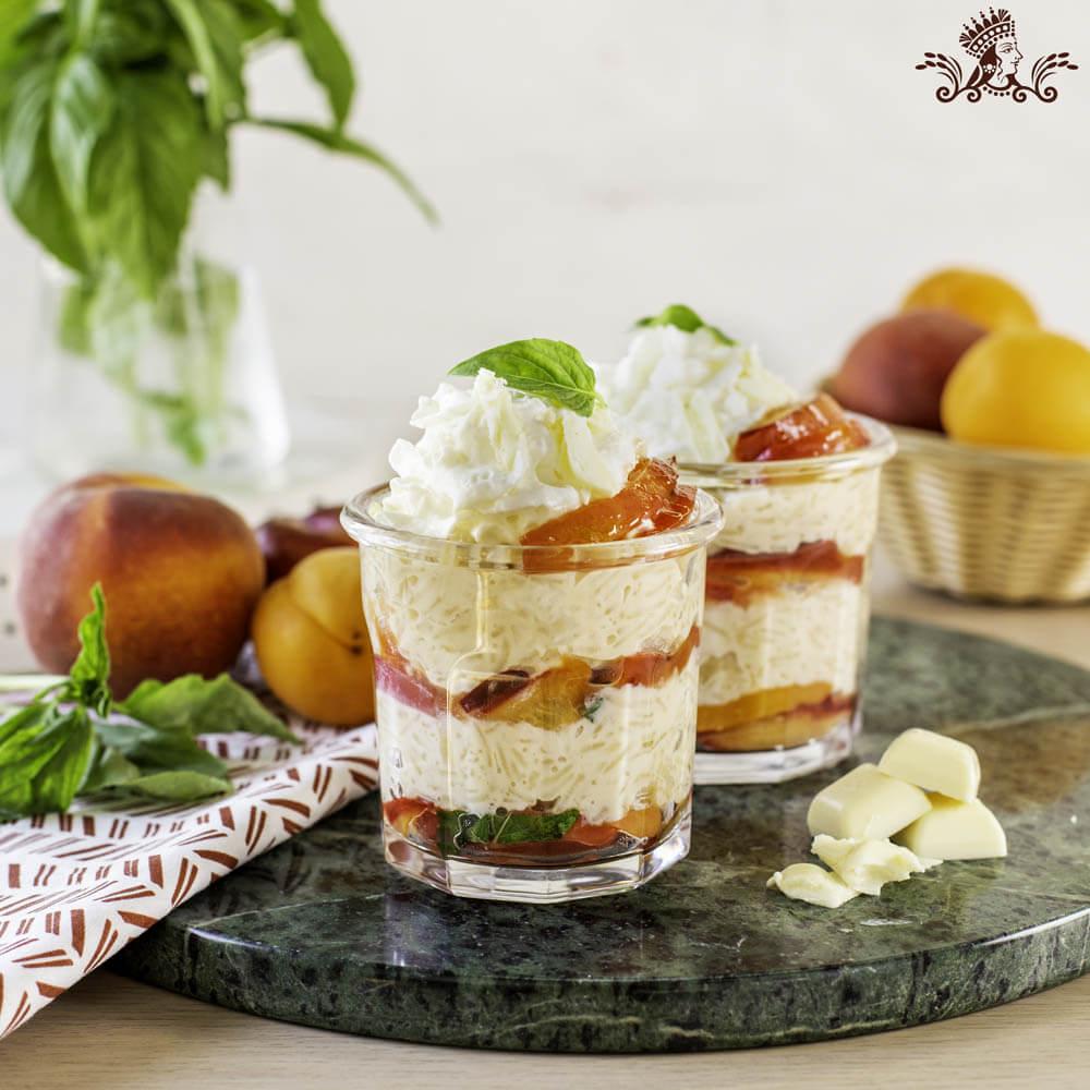 White Chocolate Royal® Basmati Rice Pudding