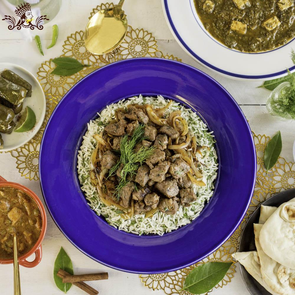 Summer Lamb and Dill Biryani with Royal® Chef's Secret Long Grain Basmati Rice