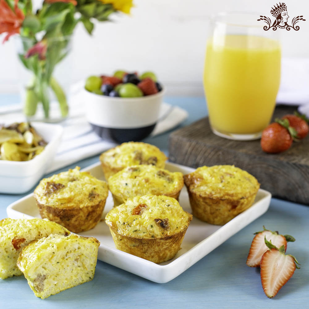 Mini Baked Egg Cups with Royal® Basmati Rice