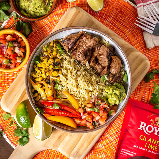 Royal Mexican Steak Bowl