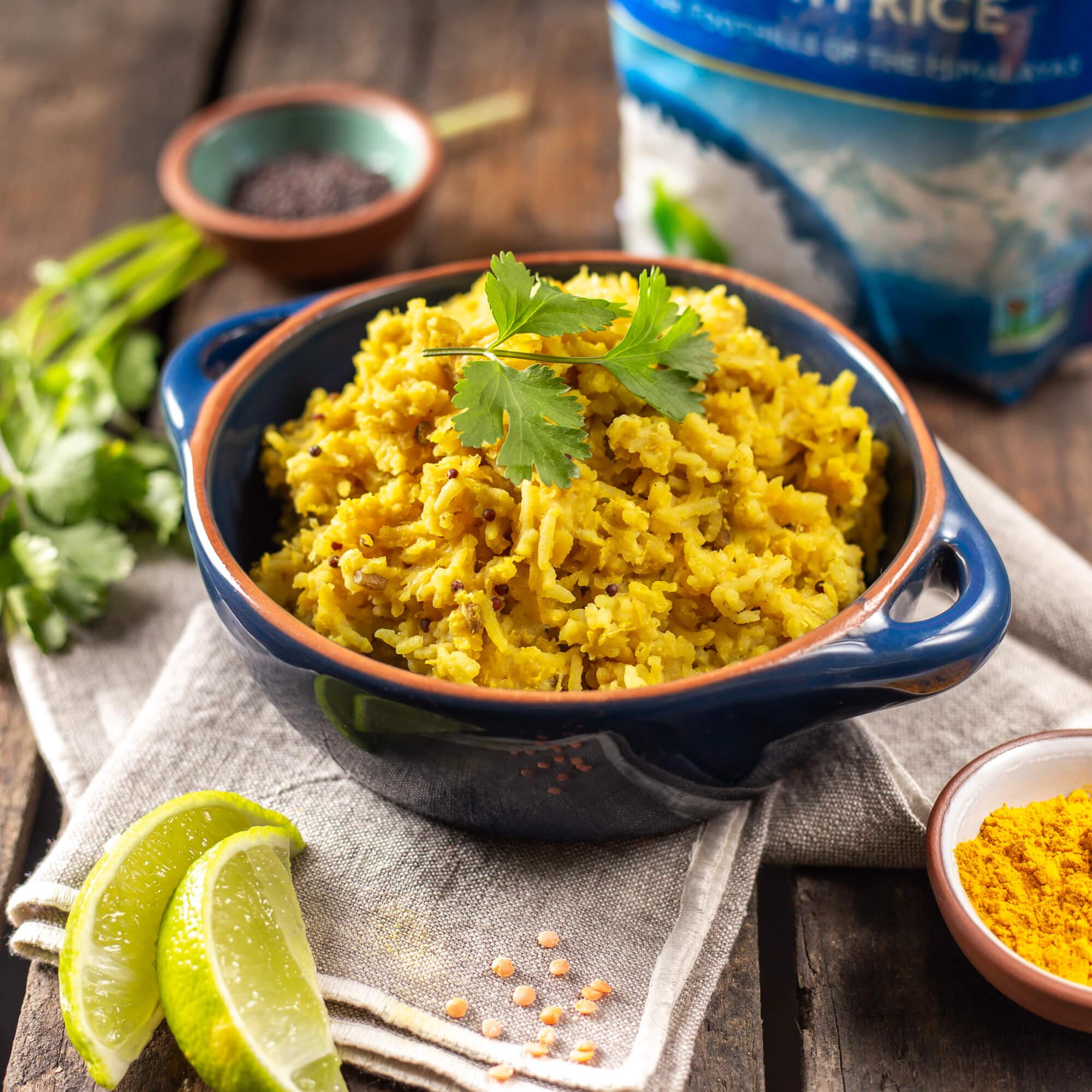 Khichdi (rice & lentil porridge)