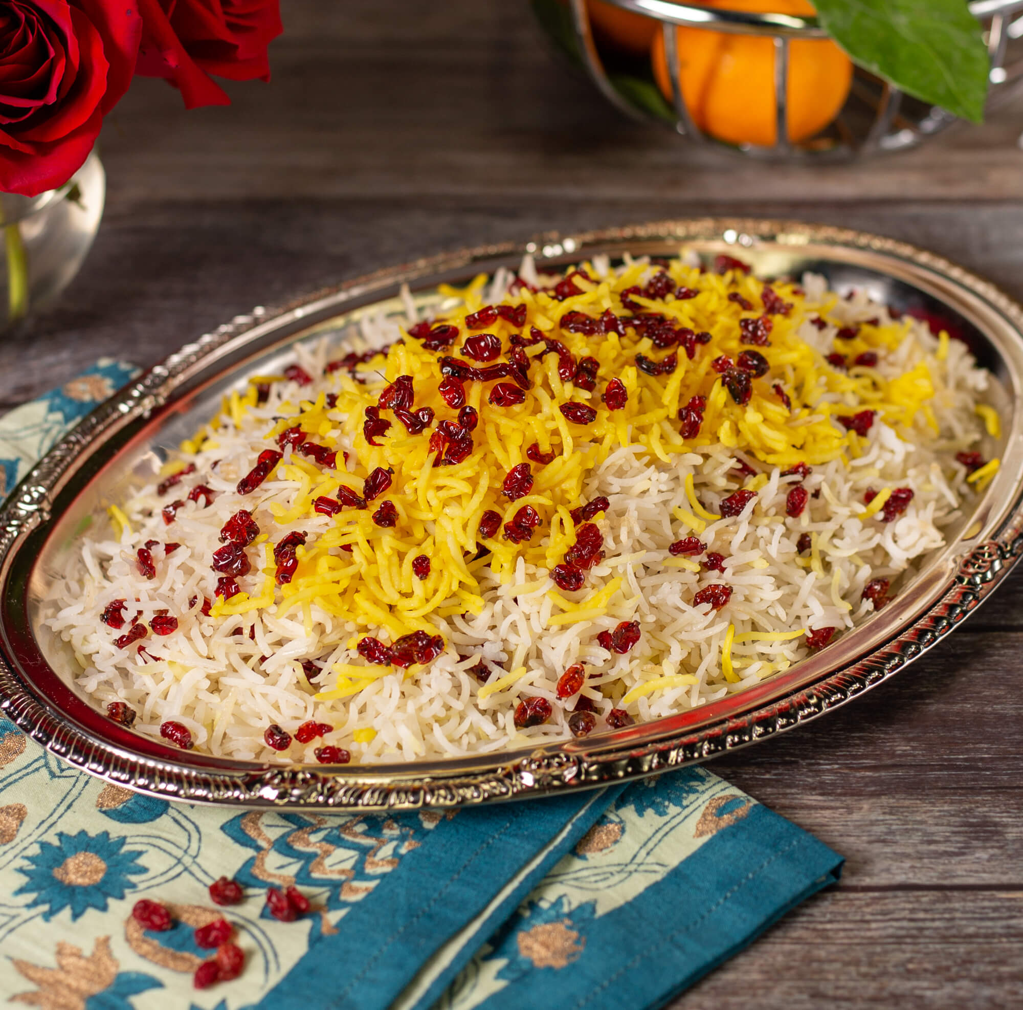 Zershk Polo (Barberry Rice)