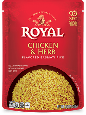 Chicken & Herb Flavored Basmati Rice