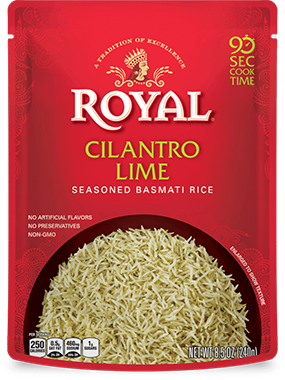 Cilantro Lime Seasoned Basmati Rice