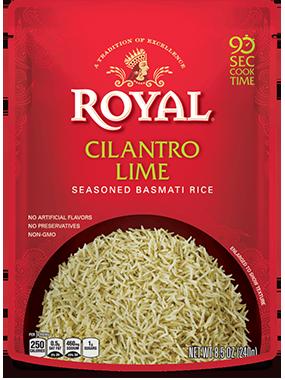 Cilantro Lime Seasoned Basmati Rice