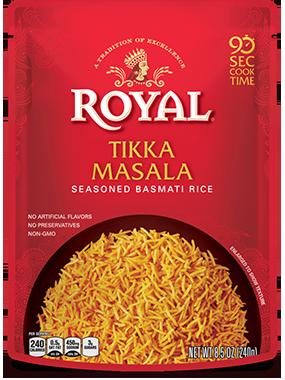Tikka Masala Seasoned Basmati Rice