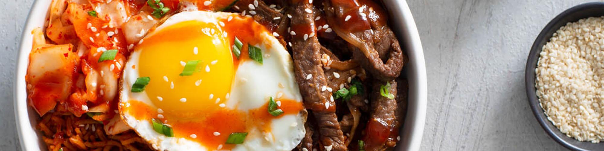 Kimchi Bibimbap Authentic Royal