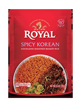 Spicy Korean Gochujang Seasoned Basmati Rice
