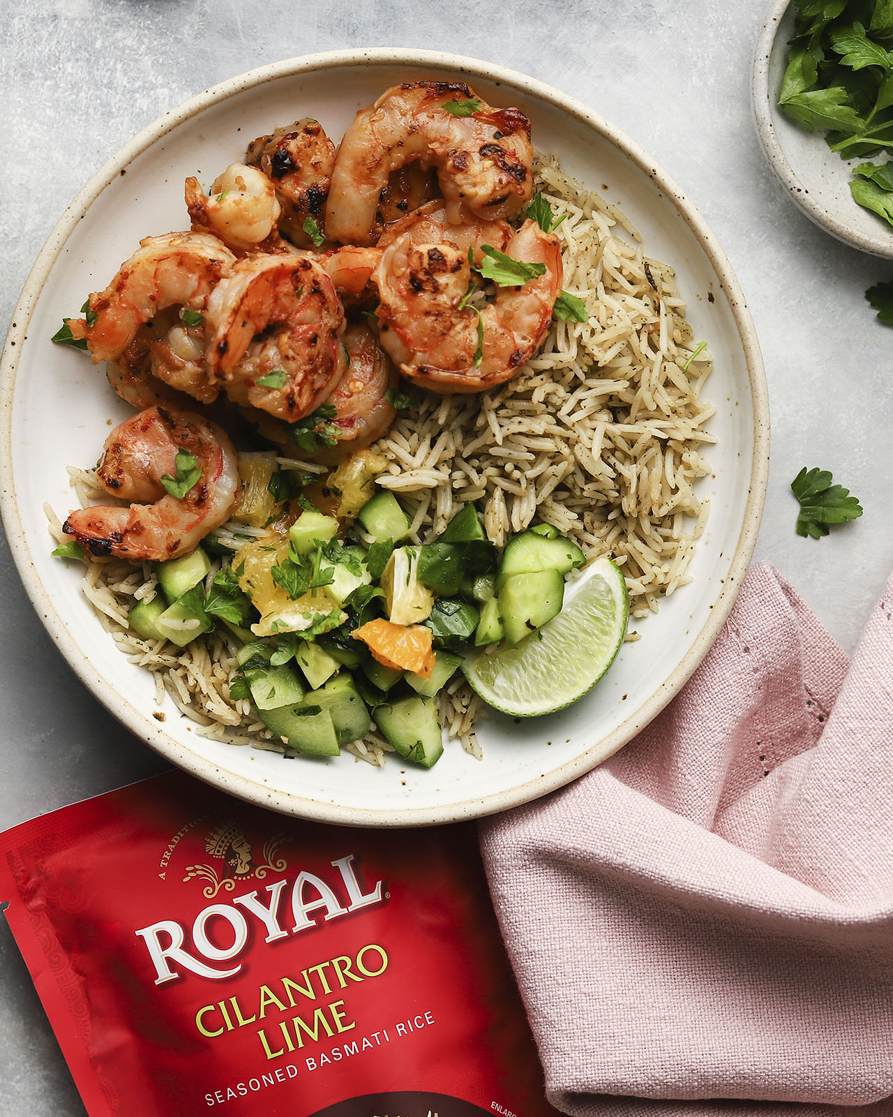 Citrus Shrimp & Rice